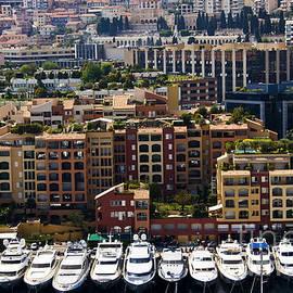 Monte Carlo bay in Monaco by Dan Radi