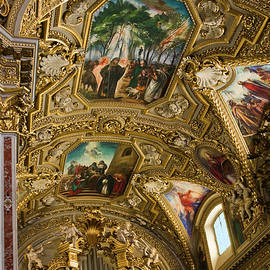 Sally Weigand - Montecassino Cathedral Ceiling