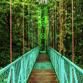 Monteverde Rainbow Bridge by Norma Brandsberg