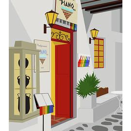 Montparnasse The Piano Bar by Sam Brennan