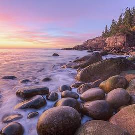 Monument Cove Morning Light by Paul Schultz