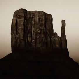 Gregory Ballos - Monument Valley Mitten Utah Arizona - Soft Sepia