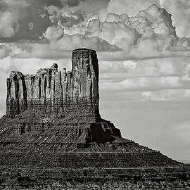 Monument Valley - Stagecoach Butte  by Saija Lehtonen