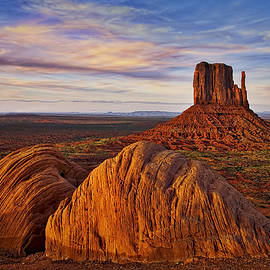 Susan Candelario - Monument Valley West Mitten