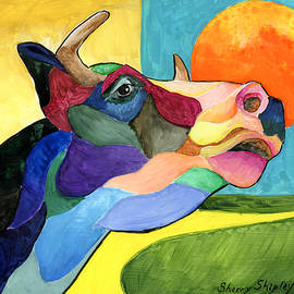Moo Cow 2 by Sherry Shipley