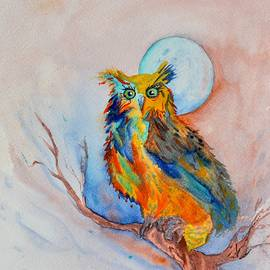 Moon Magic Owl by Beverley Harper Tinsley