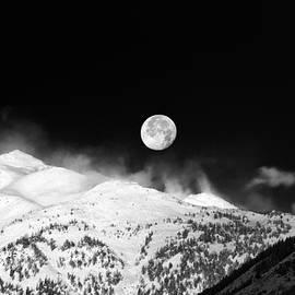 Silvia Ganora - Moon over the Alps