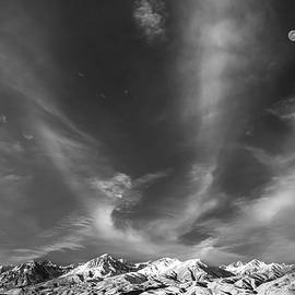 Marius Sipa - Moon over the Sierras