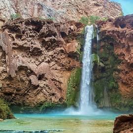 Mooney Falls Grand Canyon by NaturesPix