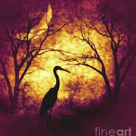 KaFra Art - Moonlight Through The Trees