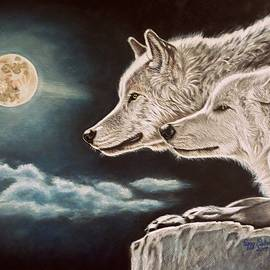 Peggy Osborne - Moonlight Wolves