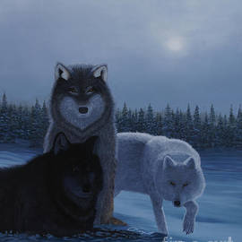 Moonlight Wolves by Stanza Widen