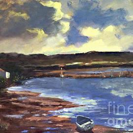 Moonlit Beach by Genevieve Brown