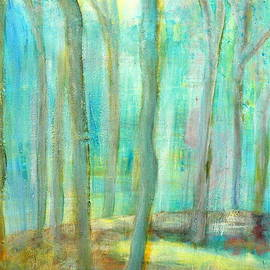 Jane Gatward - Moonlit Rubber Trees