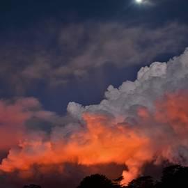 Moonrise Over Fissure 8 by Heidi Fickinger