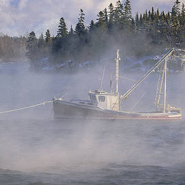 Marty Saccone - Moored in Sea Smoke