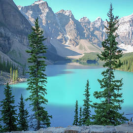 Moraine Lake Banff National Park by Terry DeLuco