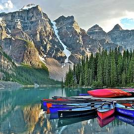 Frozen in Time Fine Art Photography - Moraine Lake