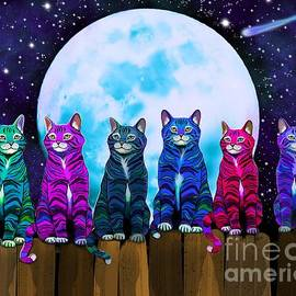 Nick Gustafson - More Moonlight Meowing