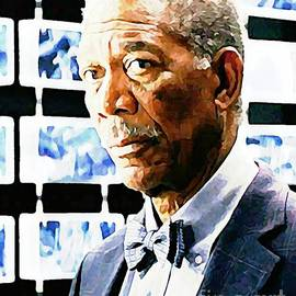 John Malone - Morgan Freeman Always Distinguished