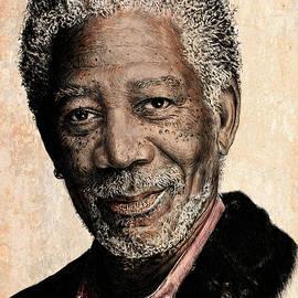 Andrew Read - Morgan Freeman colour edit