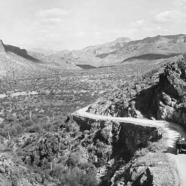 Mormon Flat In Arizona by Underwood Archives