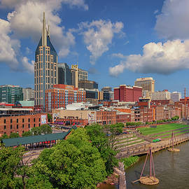 Morning Along The Cumberland River by Kristen Wilkinson
