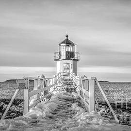Jan Mulherin - Morning at Marshall Point Lighthouse