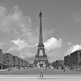 Morning At The Eiffel Tower by Digital Photographic Arts