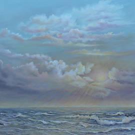 Morning At The Ocean by Katalin Luczay