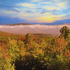 Rusty Smith - Morning autumn landscape Northern New hampshire