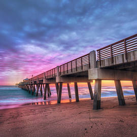 Debra and Dave Vanderlaan - Morning Colors at the Pier
