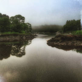 David Stone - Morning Fog at Town Wharf