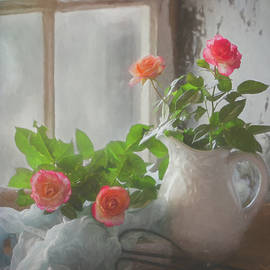 Morning Gardening by Teresa Wilson