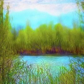 Joel Bruce Wallach - Morning Lake In Stillness
