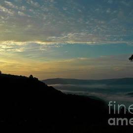 Kathy Carlson - Morning Light over Mountains