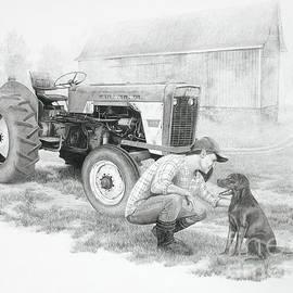Stephen McCall - Morning on the Farm