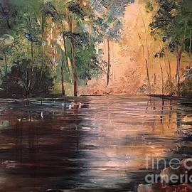 Kathelen Fox Weinberg - Morning on the Pond II