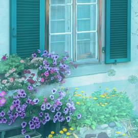 Morning Softness in the Garden by Debra and Dave Vanderlaan