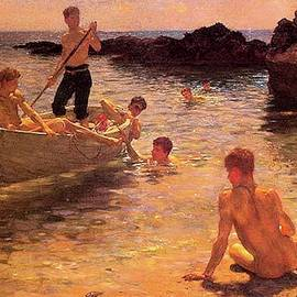 Henry Scott Tuke - Morning Splendor