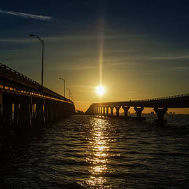 Bill Cannon - Morning Sun on the Courtney Campbell Causeway