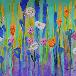 Haleh Mahbod - Morning Wildflowers