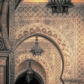 Moroccan Arches, Printerly by Susan Lafleur