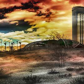 Morongo Casino Sunset by Wayne Wood