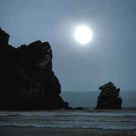 Joe Bonita - Morro Bay Sea Rocks and Sun