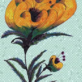 Iris Gelbart - Mosaic Flower