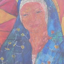 Neena Alapatt - Mosaic madonna