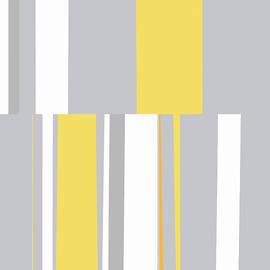 Mosaic Single 2 - Minimalist Abstract by Menega Sabidussi