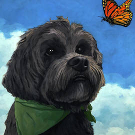 Linda Apple - Moses - pet portrait