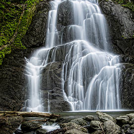 Moss Glen Falls - Vertical by Stephen Stookey
